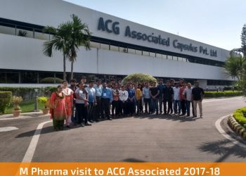 m pharma visit acg associated